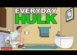 Enlace a El día a día de Hulk