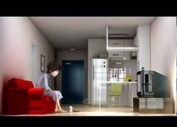 Enlace a Levantándome el lunes por la mañana - Corto de animación