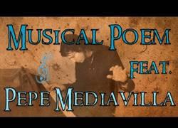 Enlace a La voz de Morgan Freeman y Gandalf recitando poesía sobre música de Joe Atlan. Impresionante.
