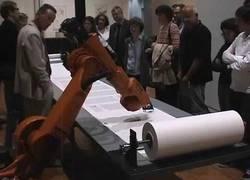 """Enlace a """"Bios Bible"""", el robot capaz de copiar la Biblia luterana a pluma y con letra manuscrita"""