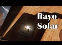Enlace a La potencia de la energía solar, concentrada en un rayo, tú también puedes hacerlo