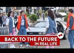 Enlace a Regreso al futuro en la vida real