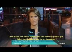 Enlace a Canal 9 pide perdón a las víctimas del metro por silenciar el accidente bajo las órdenes del PP
