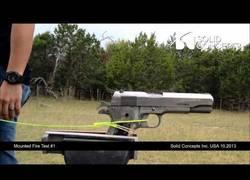Enlace a Ésta es la primera pistola hecha de metal por una impresora 3D, ¿que será lo próximo?