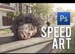 Enlace a Speed Art con Photoshop, menuda maestría