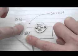 Enlace a Rotulador que te permite dibujar circuitos eléctricos sobre el papel