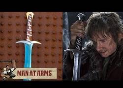 Enlace a Para el estreno de la segunda parte de El hobbit, en Man at arms se ponen a forjar Dardo de Frodo
