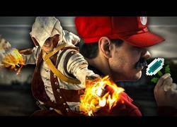 Enlace a ¿Y si los personajes de otros videojuegos robaran los poderes de Super Mario?