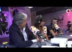 Enlace a Las voces de Bob Esponja y Calamardo en el programa de radio de Dani Mateo