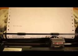 Enlace a Puede que las impresoras matriciales hayan quedado obsoletas, pero no para la música