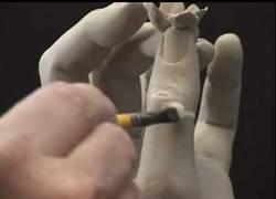 Enlace a Cómo hacer una mano de la nada, ¡menudo talento este escultor!