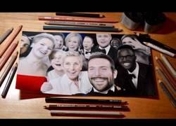Enlace a Dibujando el selfie de los Oscars con un realismo increíble