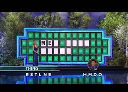 Enlace a Concursante acierta el panel final con sólo dos letras