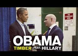 Enlace a Obama canta con Hillary Clinton la canción 'Timber' de Pitbull y Kesha