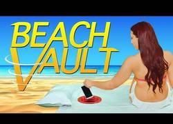 Enlace a Un original invento para llevar tus pertenencias a la playa y evitar que te las roben