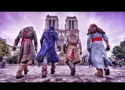 Enlace a Assassin's Creed hace parkour en la vida real [4k]