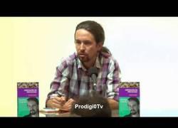 Enlace a Pablo Iglesias deja en evidencia a una periodista ecuatoriana de derechas