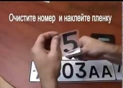 Enlace a Así se lo montan en Rusia para que el radar no fotografíe la matrícula ¡Menudos piratas!
