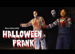 Enlace a Rémi Gaillard os desea un feliz Halloween