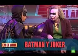 Enlace a Batman y  Joker, versión Buenafuente y Berto