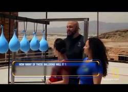 Enlace a ¿Qué pasa si disparas a globos de agua?