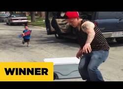 Enlace a El pequeño también quiere ser skater