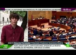 Enlace a El diputado más joven de España tiene 23 años