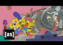 Enlace a Así es la intro de Los Simpsons al más estilo de adult swim [Inglés]