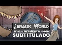 Enlace a ¿Cómo debió terminar Jurassic World? (Contiene Spoilers)