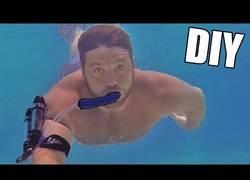 Enlace a Una fácil y barata manera de respirar bajo el agua
