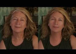 Enlace a ¡Espectacular prueba de efectos especiales digitales para quitar la edad de una actriz!