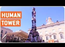 Enlace a La torre humana se derrumba
