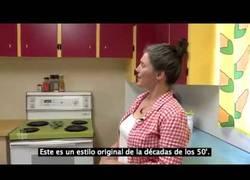 Enlace a Esta mujer está convirtiendo su cocina real en la de Los Simpsons
