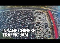 Enlace a El mayor atasco de tráfico de la historia