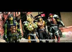 Enlace a Las Tortugas Ninja están de regreso... ¡con Stephen Amell!