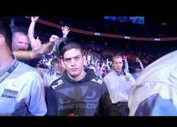 Enlace a En la UFC hay algo seguro y es que te roben la gorra antes de luchar