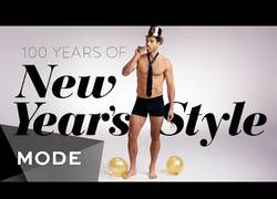 Enlace a 100 años de moda para fin de año. Un repaso a los estilos