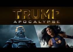Enlace a Enorme parodia de X-Men con Trump de protagonista: Apocalypse