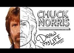 Enlace a Chuck Norris: el Draw My Life que estabas esperando