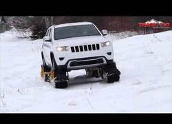Enlace a Track N Go, el invento definitivo para desplazarte por la nieve