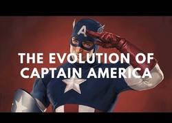 Enlace a La evolución del Capitán América