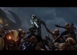 Enlace a DOOM ha regresado entre los muertos. Increíble trailer de lanzamiento