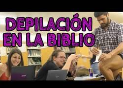 Enlace a Depilación en la biblio. Atención a sus reacciones