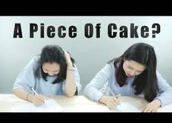Enlace a Coreanos enfrentándose a un examen de matemáticas