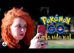 Enlace a Así es Pokémon Go en la vida real