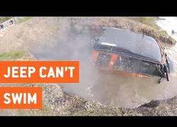 Enlace a Confirmado: Los Jeep no saben nadar