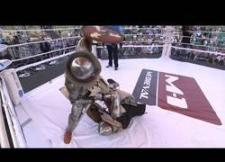 Enlace a El espectacular combate medieval que termina en KO