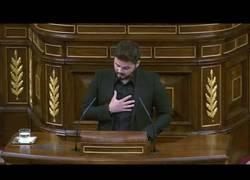 Enlace a El discurso de Gabriel Rufián en el debate de investidura