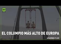 Enlace a Así es el columpio más alto de Europa