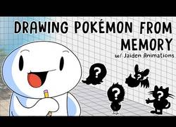 Enlace a Dibujando Pokémon de memoria